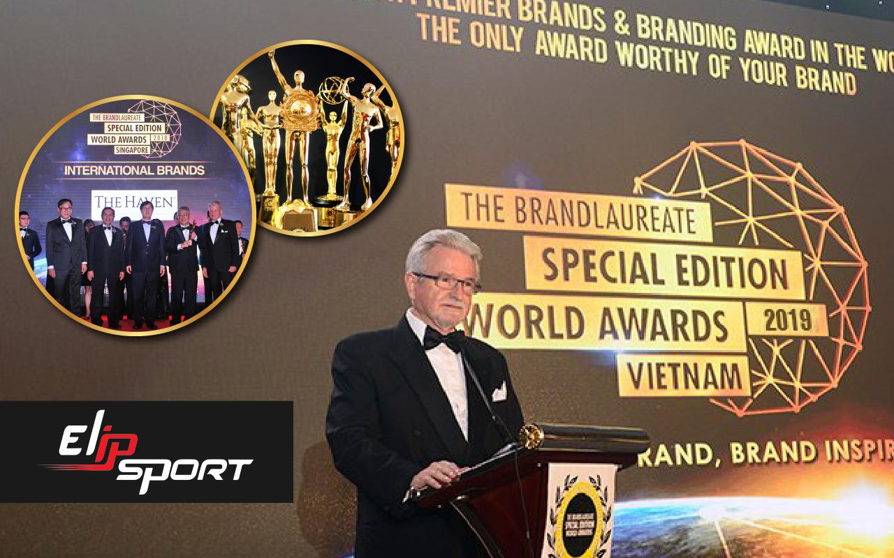Elipsport vinh dự đón nhận giải thưởng Thương hiệu xuất sắc thế giới 2019 - ảnh 2