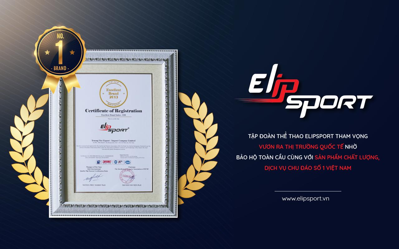 Thương hiệu Elipsport được bảo hộ trên toàn cầu - ảnh 1