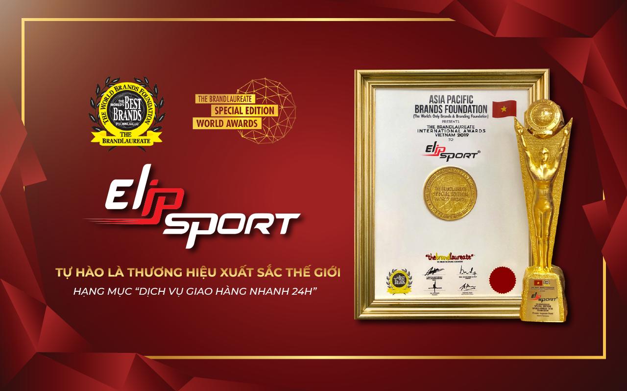 Elipsport vinh dự đón nhận giải thưởng Thương hiệu xuất sắc thế giới 2019 - ảnh 1