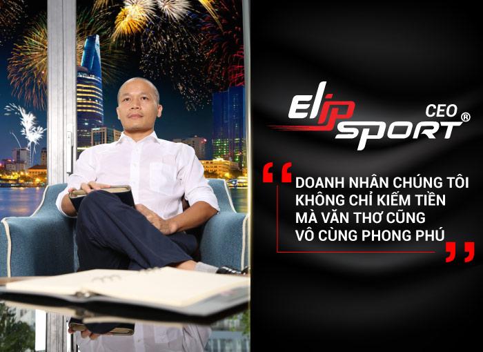 CEO Elipsport: Doanh Nhân Không Chỉ Biết Kiếm Tiền Mà Văn Thơ Cũng Vô Cùng Phong Phú