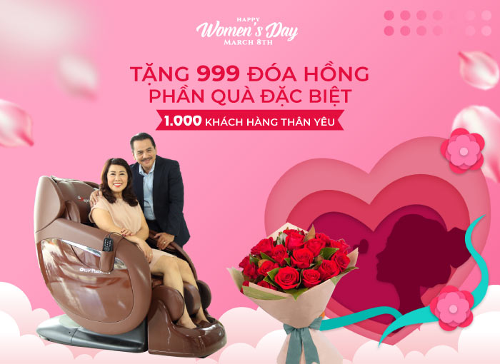 CEO Elipsport dành tặng 999 đóa hồng và một phần quà đặt biệt cho 1.000 Khách hàng thân yêu ngày 8-3